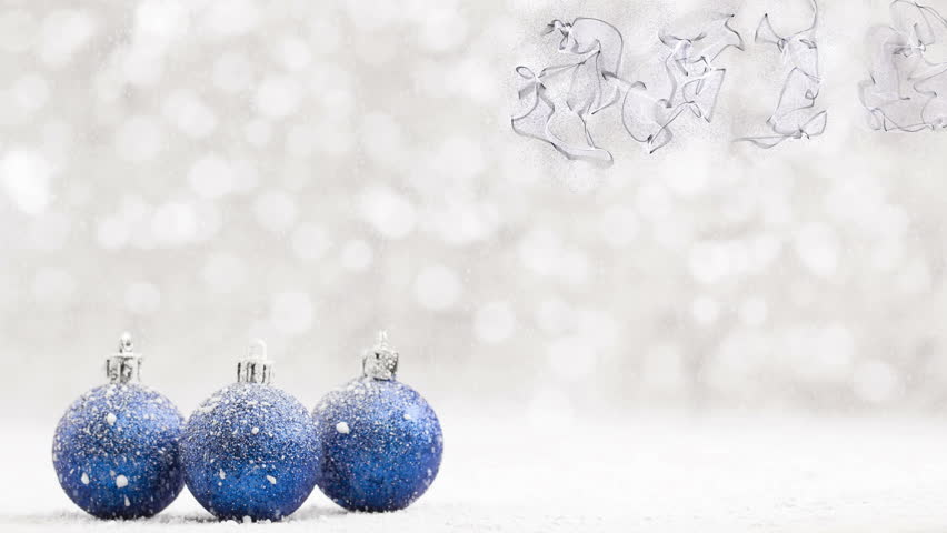 Christmas Ball In The Snow Stock Footage Video 100 Royalty Free