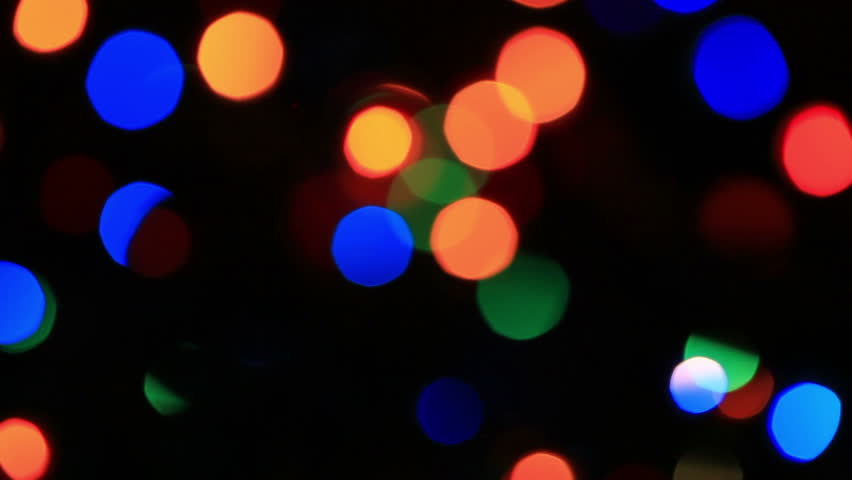 Christmas Light Bulbs.Blurry Christmas Light Bulbs On Stock Footage Video 100 Royalty Free 13308983 Shutterstock