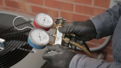Air Pressure Home Heating/Cooling Testing.