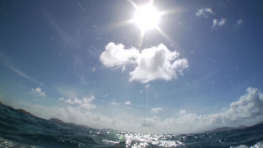 Underwater Dolphin POV surface dive ~ Jack McCoy Media     sea, beautiful, summer, water, silhouette, fish, nature, underwater, sun, aqua, wave, tracking, ocean, jack mccoy, water texture, pov, dive