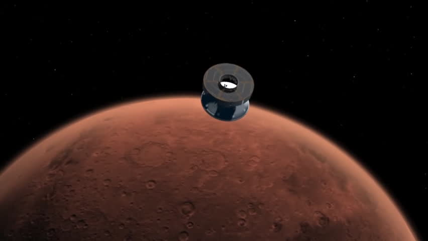 footage landing on mars - photo #26