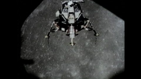 CIRCA 1960s - Apollo 11 lands on the moon in 1969.