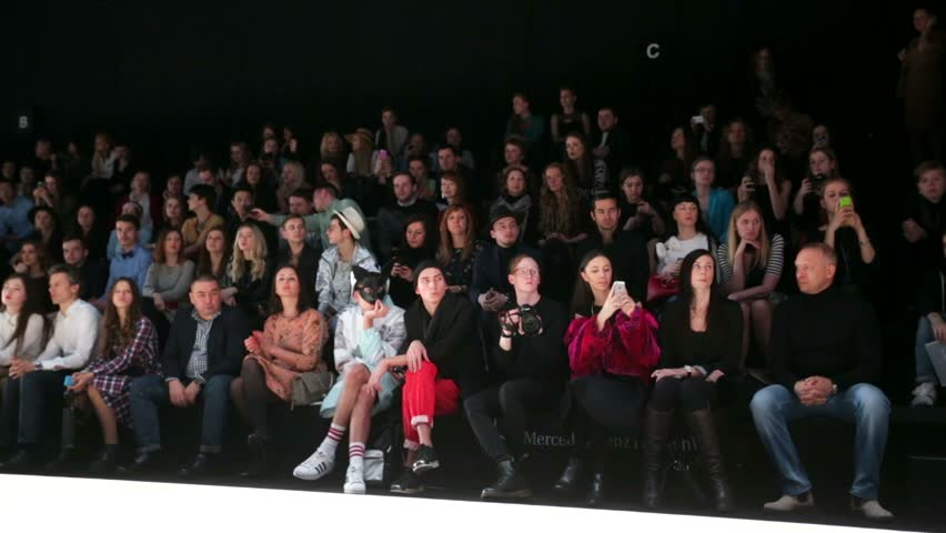 Show Fashion runway audience