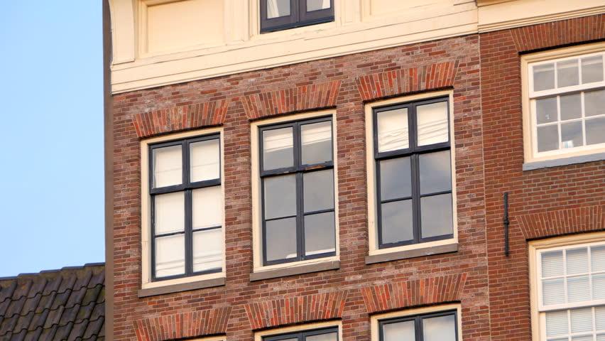 Day Windows Floor Small Eastern Brick Apartment Building