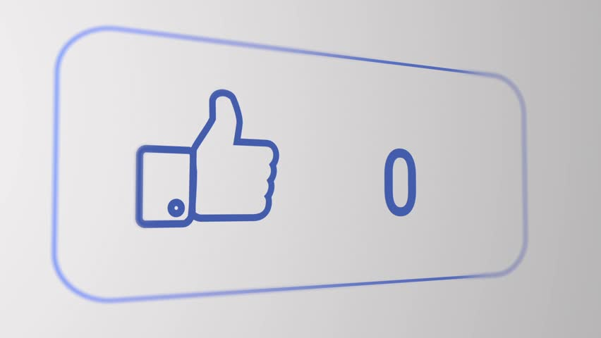 Facebook like flat animation, with smooth camera | Shutterstock HD Video #13513229