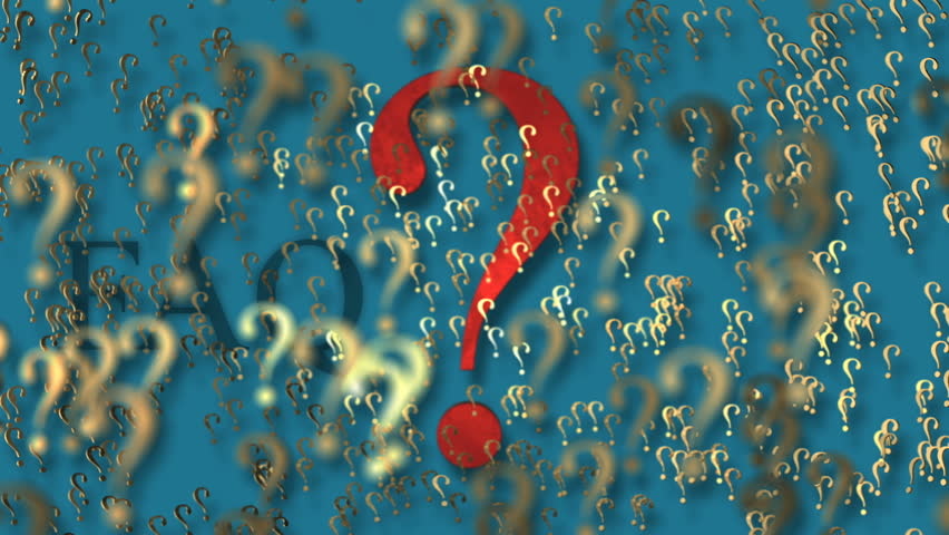 Animated question mark | Shutterstock HD Video #13732778