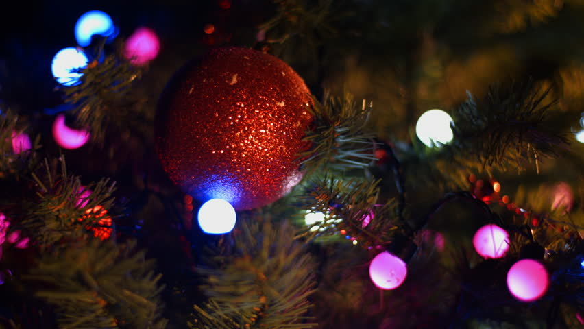 Twinkling Christmas Tree Lights