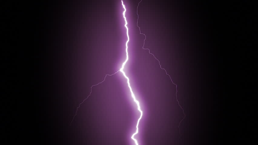 Several lightning strikes over black background. Purple. - HD stock footage clip & 4k Lighting Strike Packs Animation Blue Color. Stock Footage ... azcodes.com