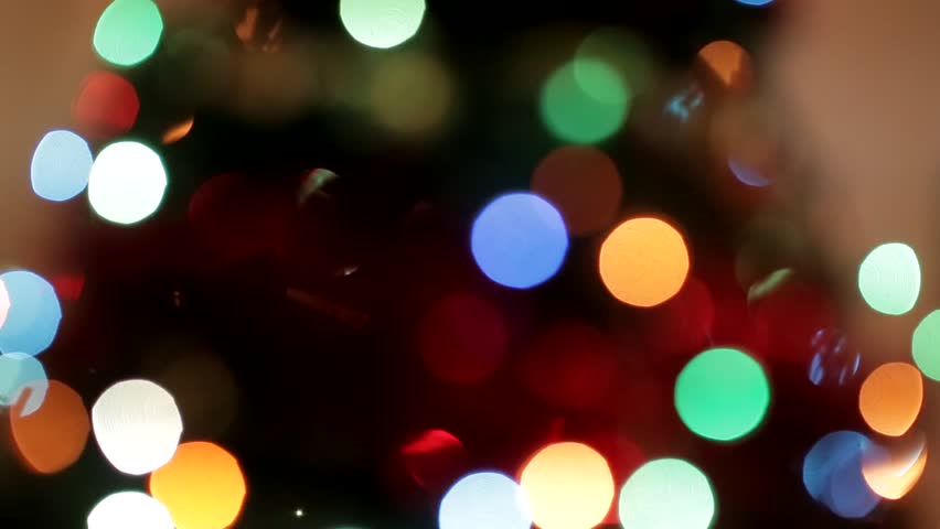 christmas lights at night stock footage video 13974323 shutterstock - Christmas Lights Video