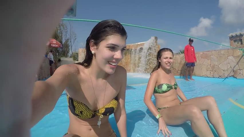 b952b4770d5ed Girls Having Fun in Fun Stock Footage Video (100% Royalty-free ...