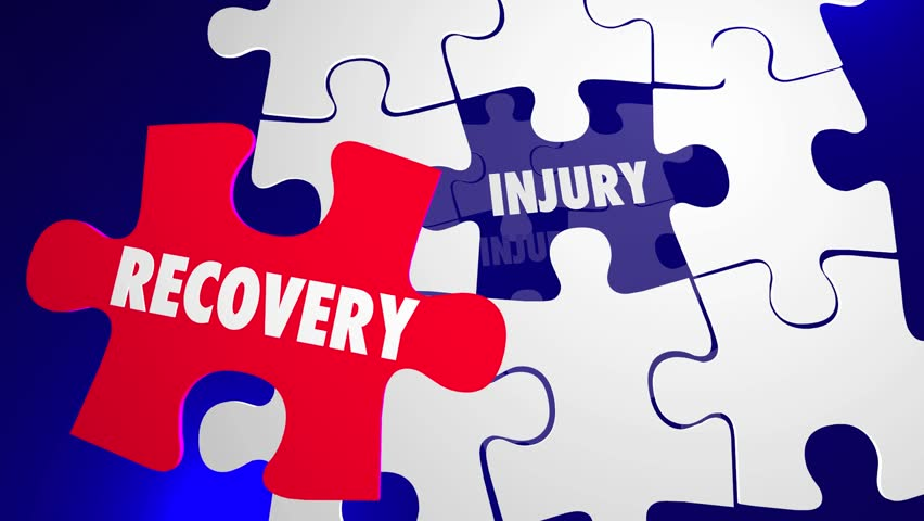 Recovery Injury Puzzle Pieces Health Care Rehabilitation | Shutterstock HD Video #14153213