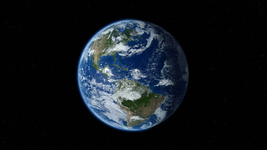 Earth zoom in from space to street level. Zoom to North America. 4K   Shutterstock HD Video #14294533