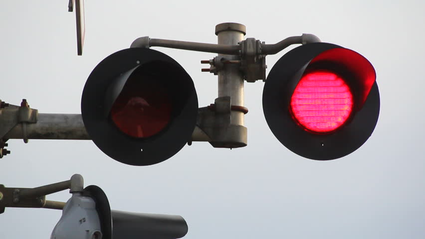 Image result for train rail flashing lights