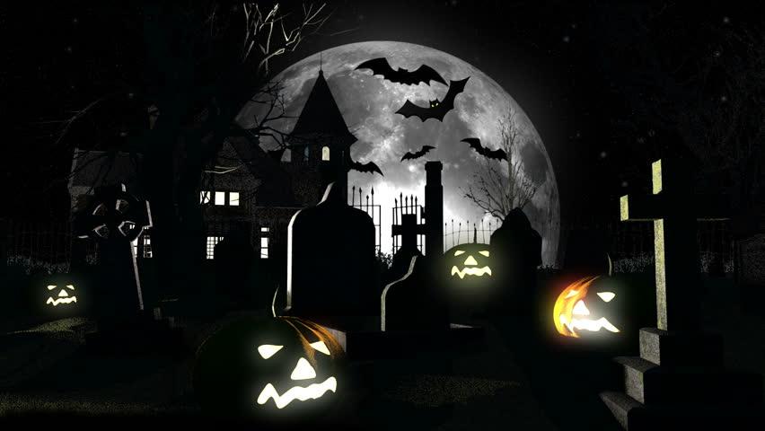 Halloween 3D animation | Shutterstock HD Video #1434013