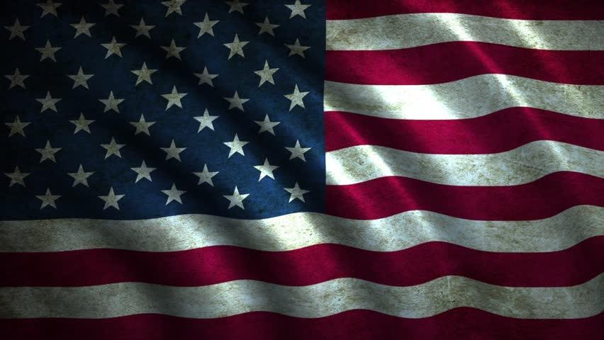 Usa Flag Nice Flag Animation Stock Footage Video 100 Royalty Free