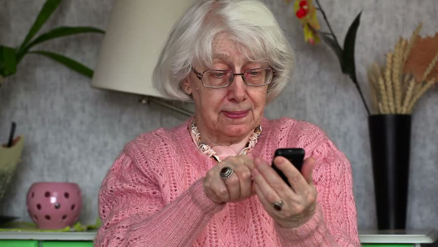 Image result for old lady on cell phone