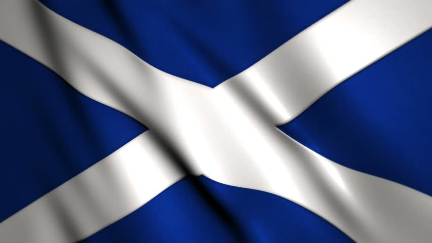 Scotland Flag Stock Footage Video | Shutterstock