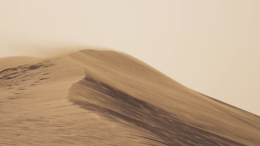 DUNES AND WIND - DESERT  | Shutterstock HD Video #14672773