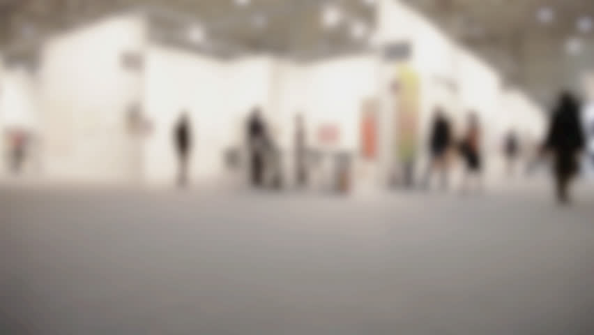 Panoramic View of People Walking Stock Footage Video (100% Royalty,free)  14720593