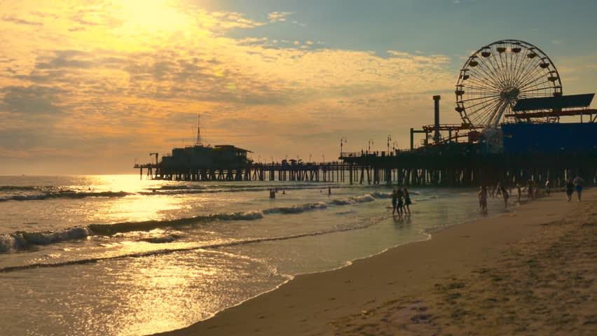 Santa Monica Wheel Stock Video Footage 4k And Hd Clips Shutterstock