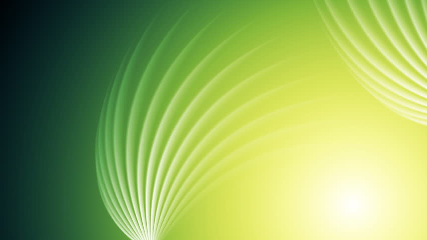 Bright green shiny swirl abstract background. Video graphic design animation HD 1920x1080