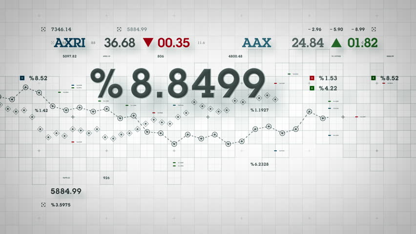 Market Data - Business and market data developing over time. Available in multiple colors. Loops seamlessly. | Shutterstock HD Video #15016324