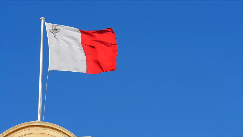 The Flag of Malta with Stock Footage Video (100% Royalty-free) 15039343 |  Shutterstock