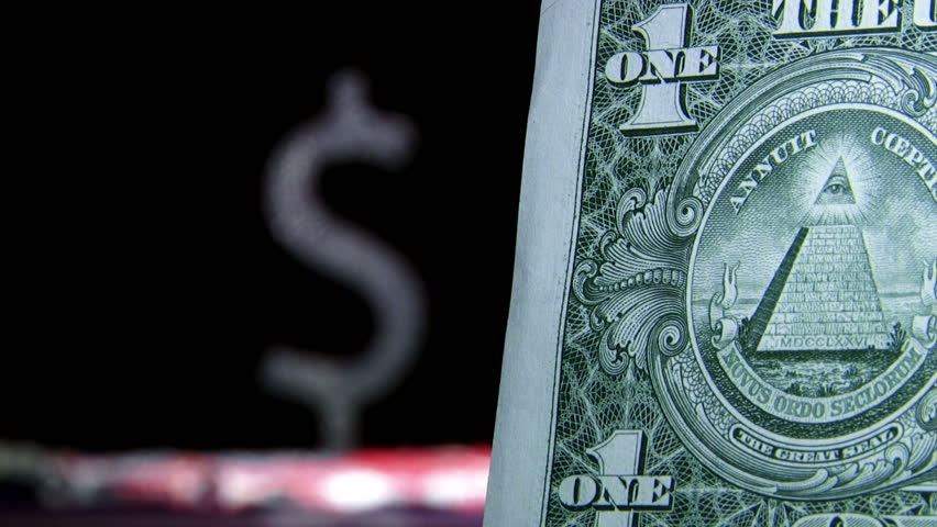 US Dollars Money Map And Flag In Background Business Concept - Us money map