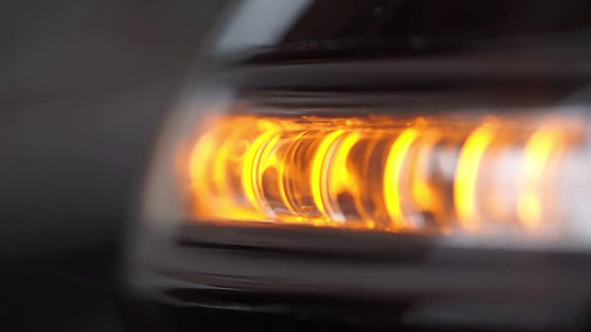 Turn Signal Light Blinking On Black Stock Video (HD) Royalty Free ·  15145873 · Shutterstock