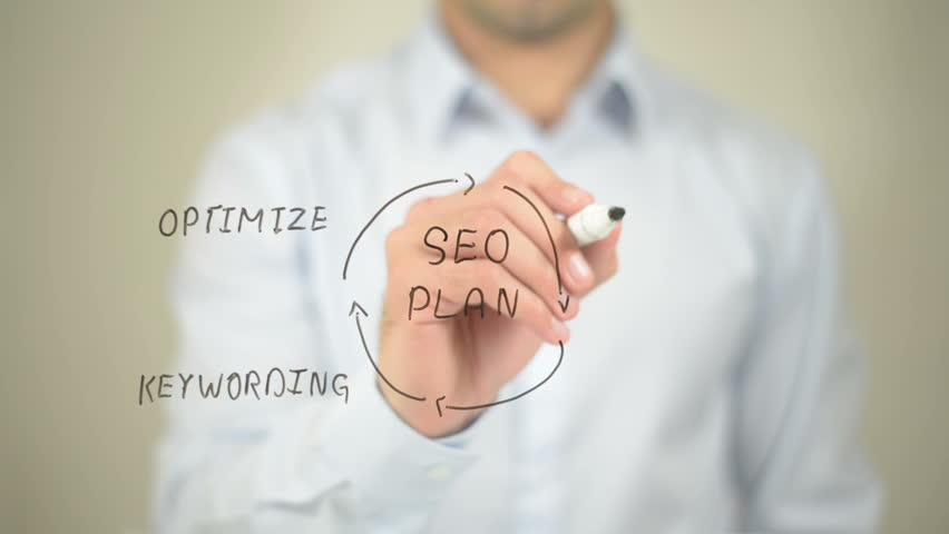 SEO Plan, Concept Illustration