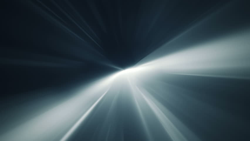 Abstract Background With Animation Of Shine Light From Deep Seamless Loop