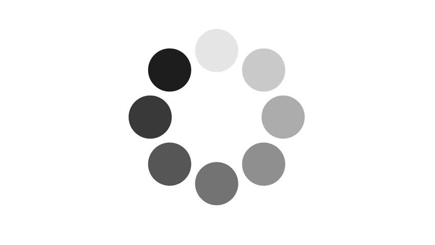 Clip 15727663 Stock Footage Progress Loading Bar Ui Indicator Loading Circle Download Progress Preloader Animation Web on Period 5 Element
