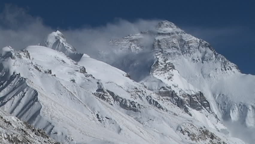 The North Face Massif of Mt. Everest