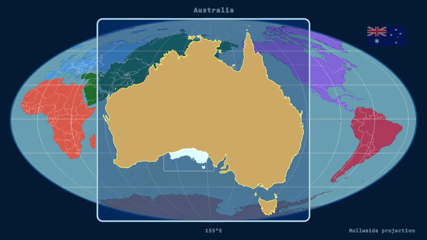 Stock video of zoomed in view of a australia outline 15447553 stock video of zoomed in view of a australia outline 15447553 shutterstock gumiabroncs Image collections