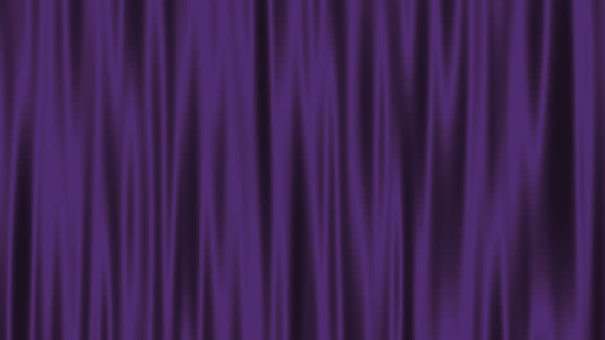 Curtain Felt Velvet Waving Fabric Motion Background Loop Purple ...