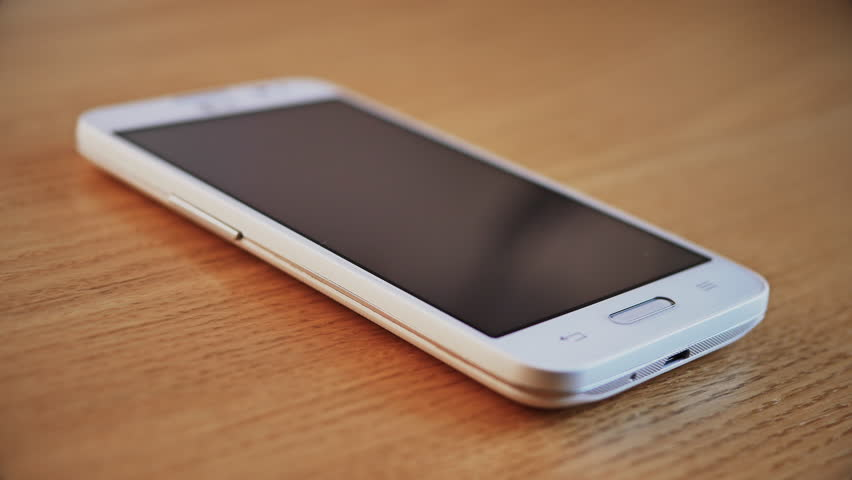 Incoming Call on White Smart Phone. No Answer. Call Ended. 4K  | Shutterstock HD Video #15512941