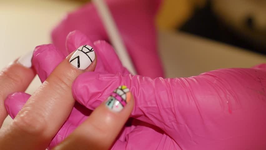 Enchanting Nail Polish Finger Covers Inspiration - Nail Paint Design ...
