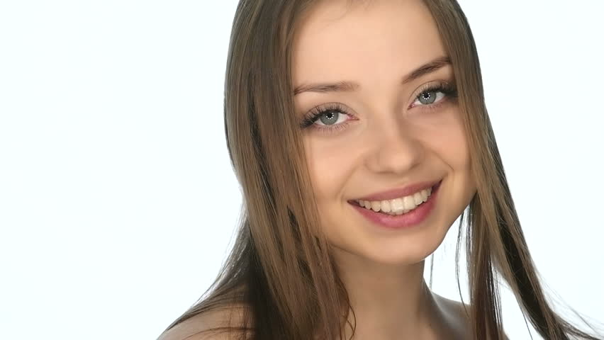 Beautiful Sexy Young Girl Flirts , Slow Motion Stock Footage Video 15621577  Shutterstock-2918