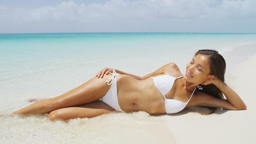 Beach bikini free pic video