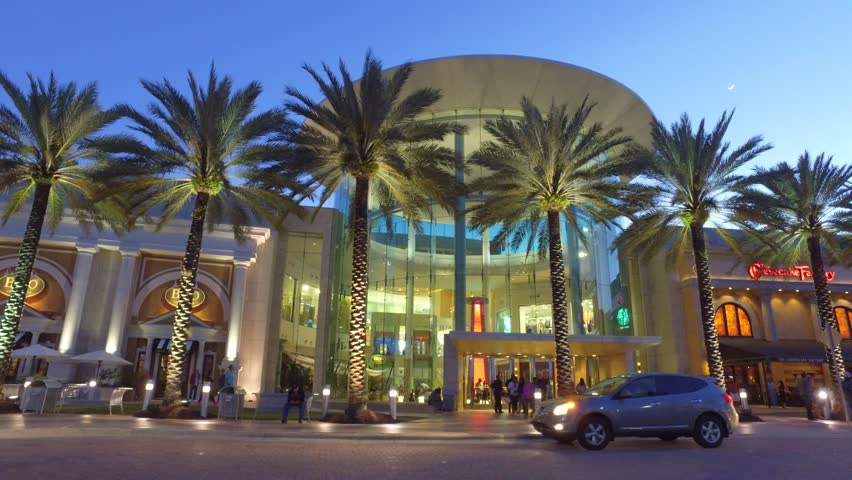 ORLANDO - APRIL 9: Motion video of the Mall at Millenia completed in 2002 and located at 4200 Conroy Road April 9, 2016 in Orlando FL, USA