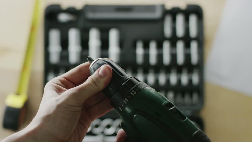 Header of screwdriver