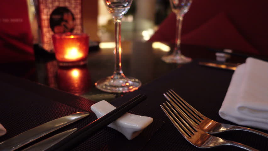 Place Setting At Upscale Chinese Stock Footage Video 100 Royalty Free 16033993 Shutterstock