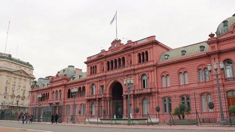 La Casa Rosada, Buenos Aires, Argentina. Plaza de Mayo, Argentine.