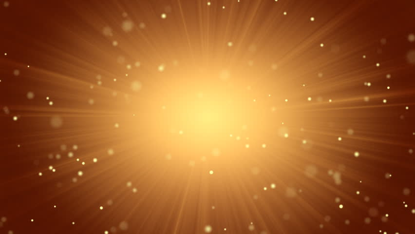 Orange abstract background light beams and particles | Shutterstock HD Video #1614913