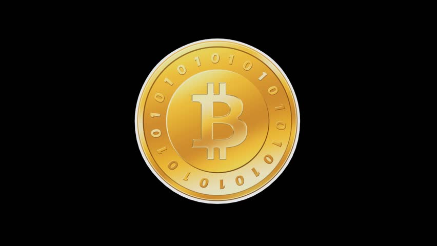 Rotation of Gold Bitcoin Coin,virtual Stock Footage Video (100%  Royalty-free) 16346773 | Shutterstock