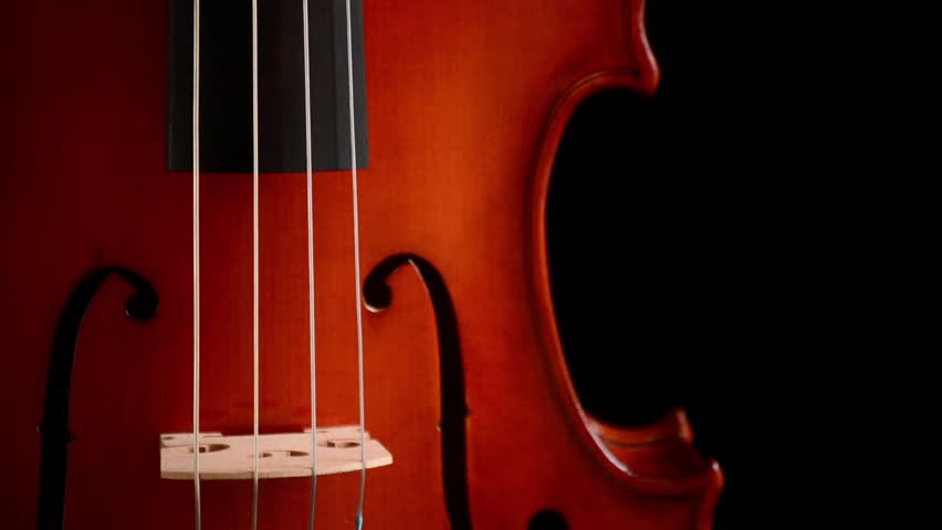 Cello Wallpaper Photo 22287 Hd Pictures: Violin, Seamless Loop On Black Background Stock Footage