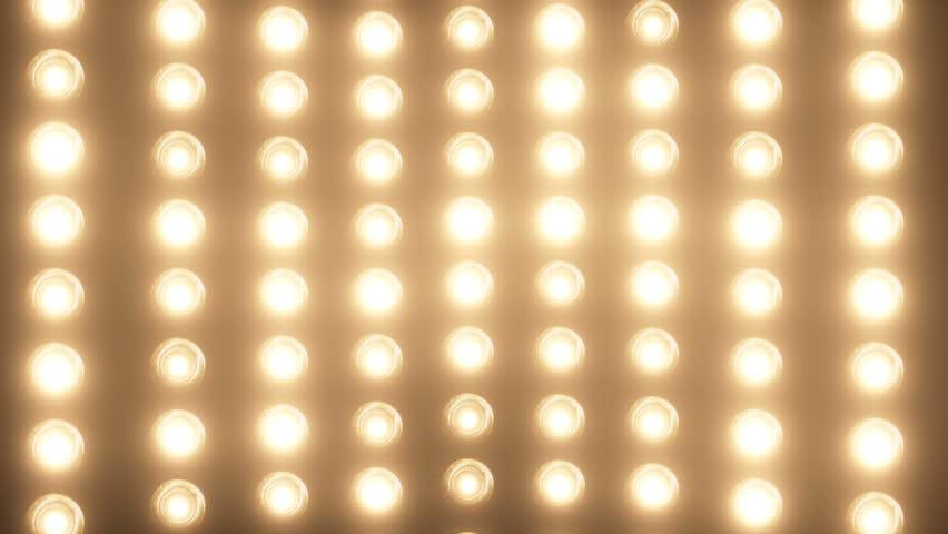 Spotlight and wall dance