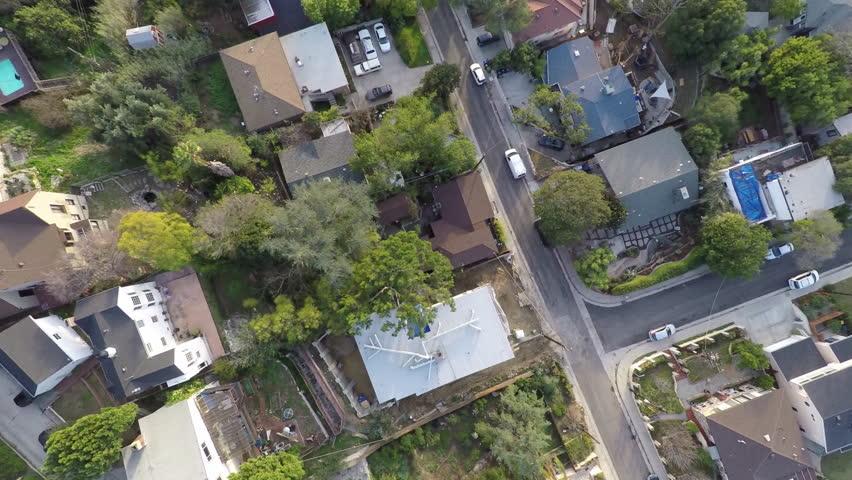 L.A. Elysian Park Aerial 12
