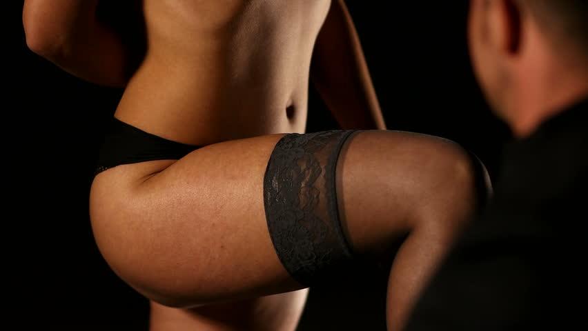 Man Remove Woman Socks