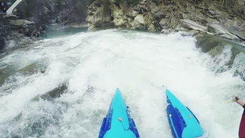 POV: White water rafting